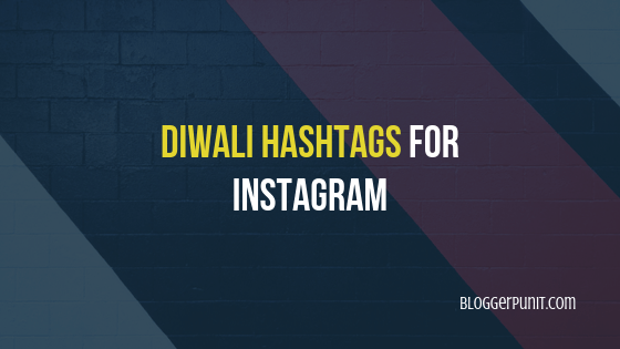 diwali instagram hashtags
