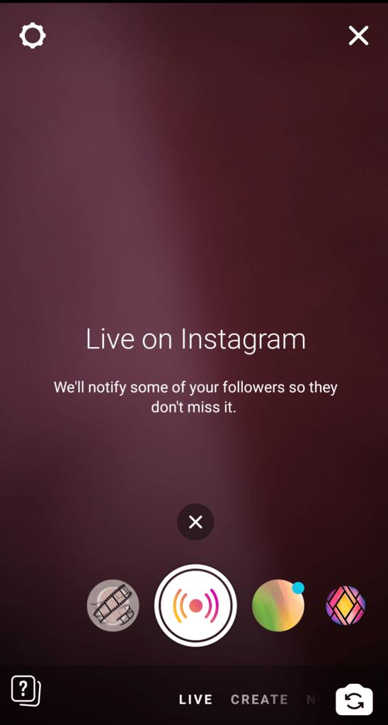 Nailing Instagram LIVE!